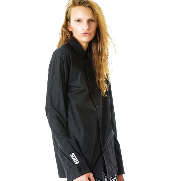 UNIF Secret Button Up Shirt