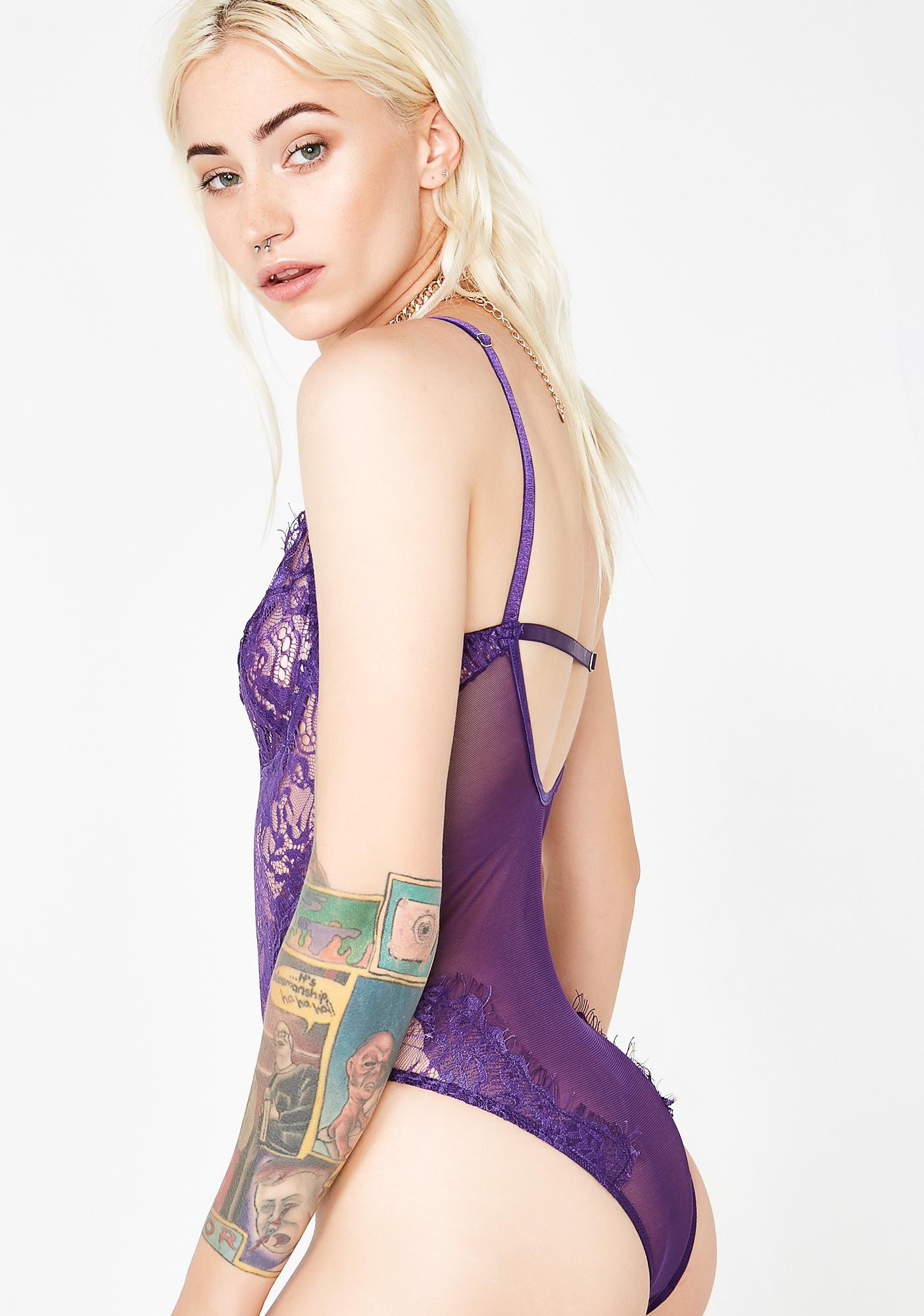 Kush Steamy Nights Lace Bodysuit