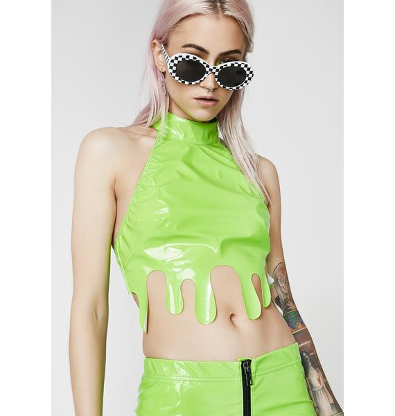 Current Mood Melt Your Mind Crop Top