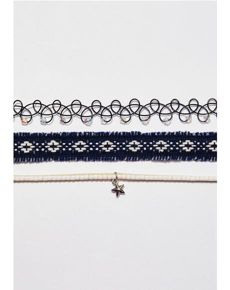 Dusk To Dawn Choker Set