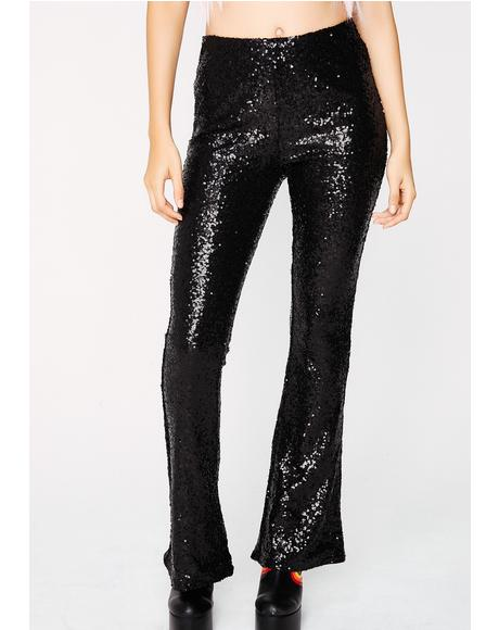 Slow Free Style Sequin Pants