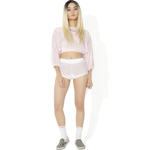 Sugarpuss Sweet N' Sassy Velvet Shorts