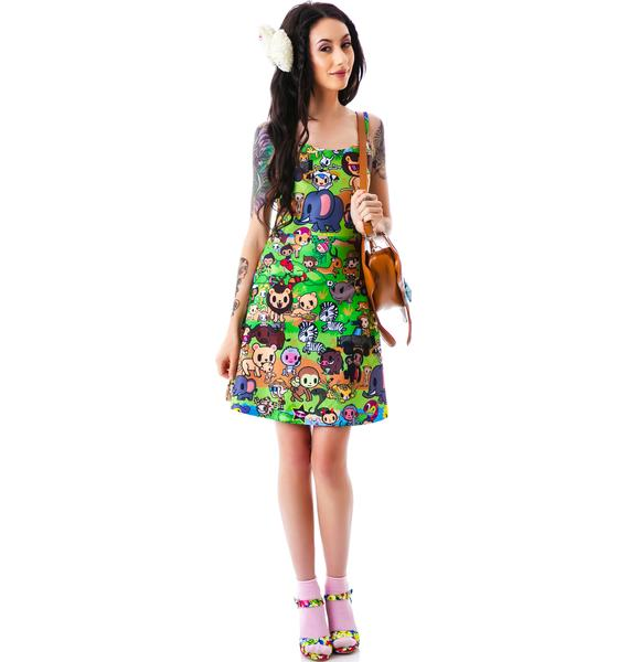 Japan L.A. Japan L.A. x tokidoki Savannah Strappy Dress