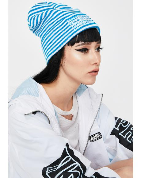 Helldiver Striped Beanie