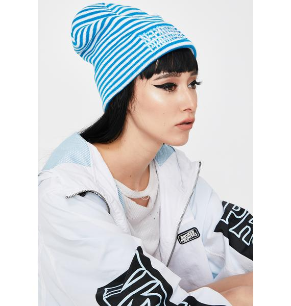 BROKEN PROMISES CO Helldiver Striped Beanie