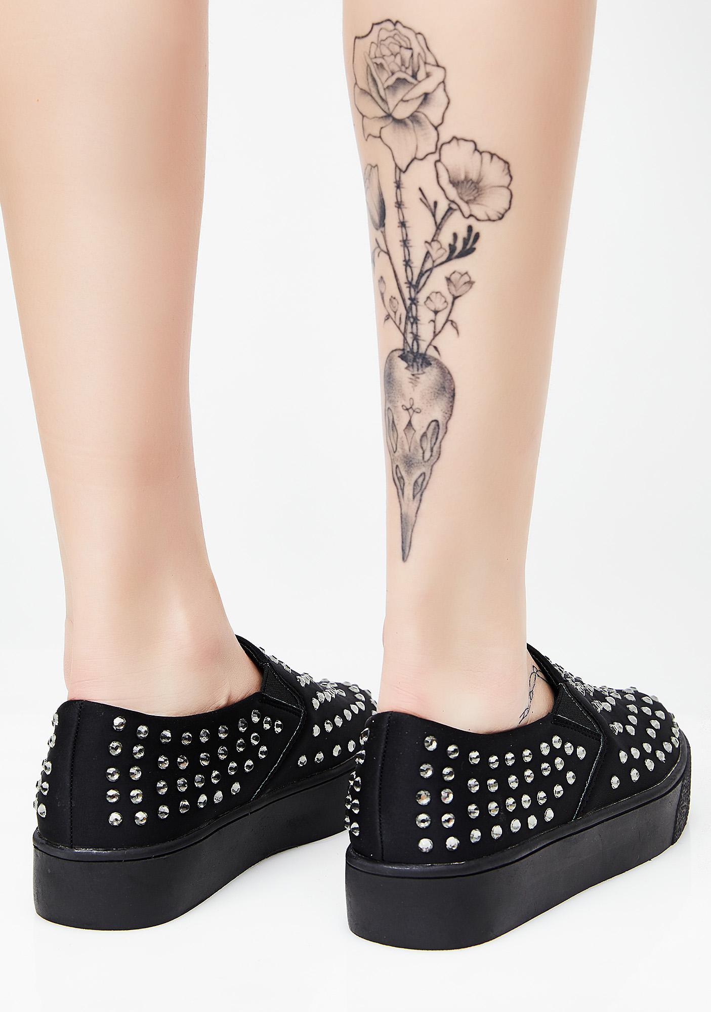 Gem Drop Slip-On Sneakers