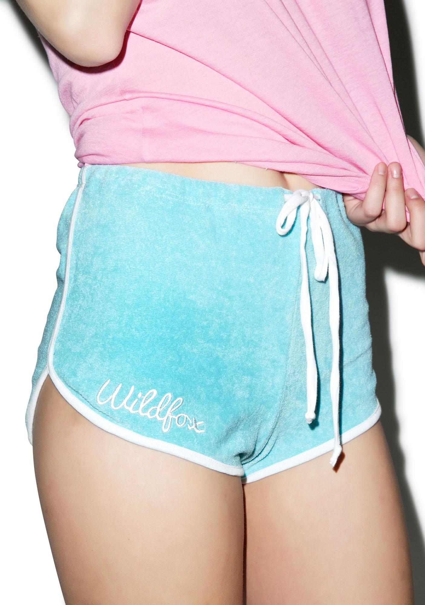 Wildfox Couture Fun Fox Terry Shorts