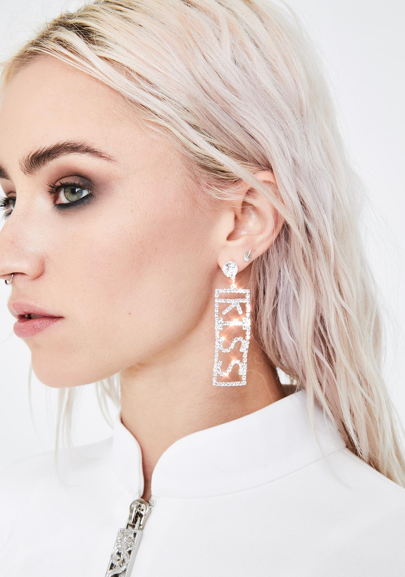 Love On Ya Rhinestone Earrings