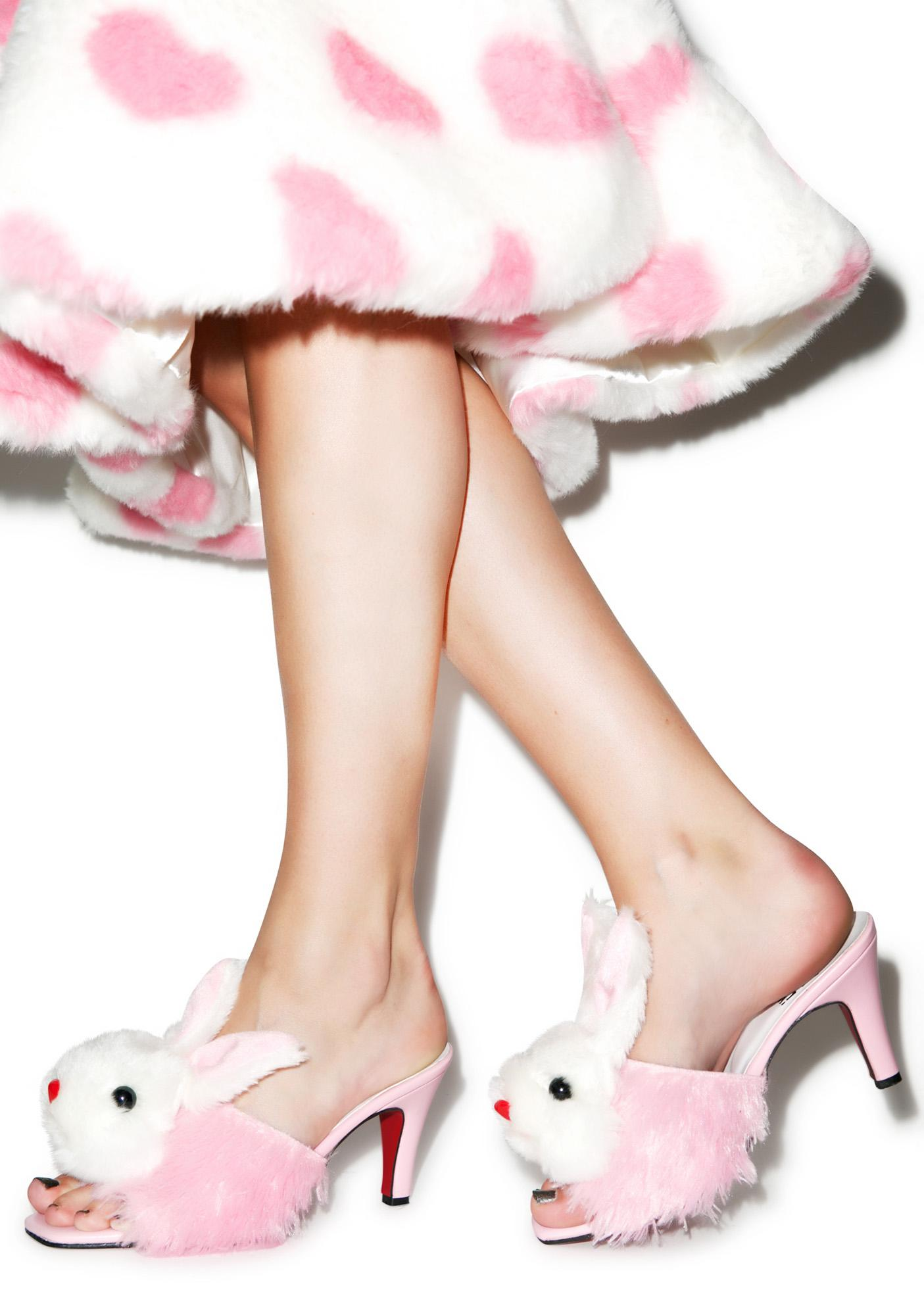 O Mighty Slutty Bunny Heels