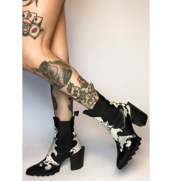 Lamoda Fierce True Cowgirl Ankle Boots