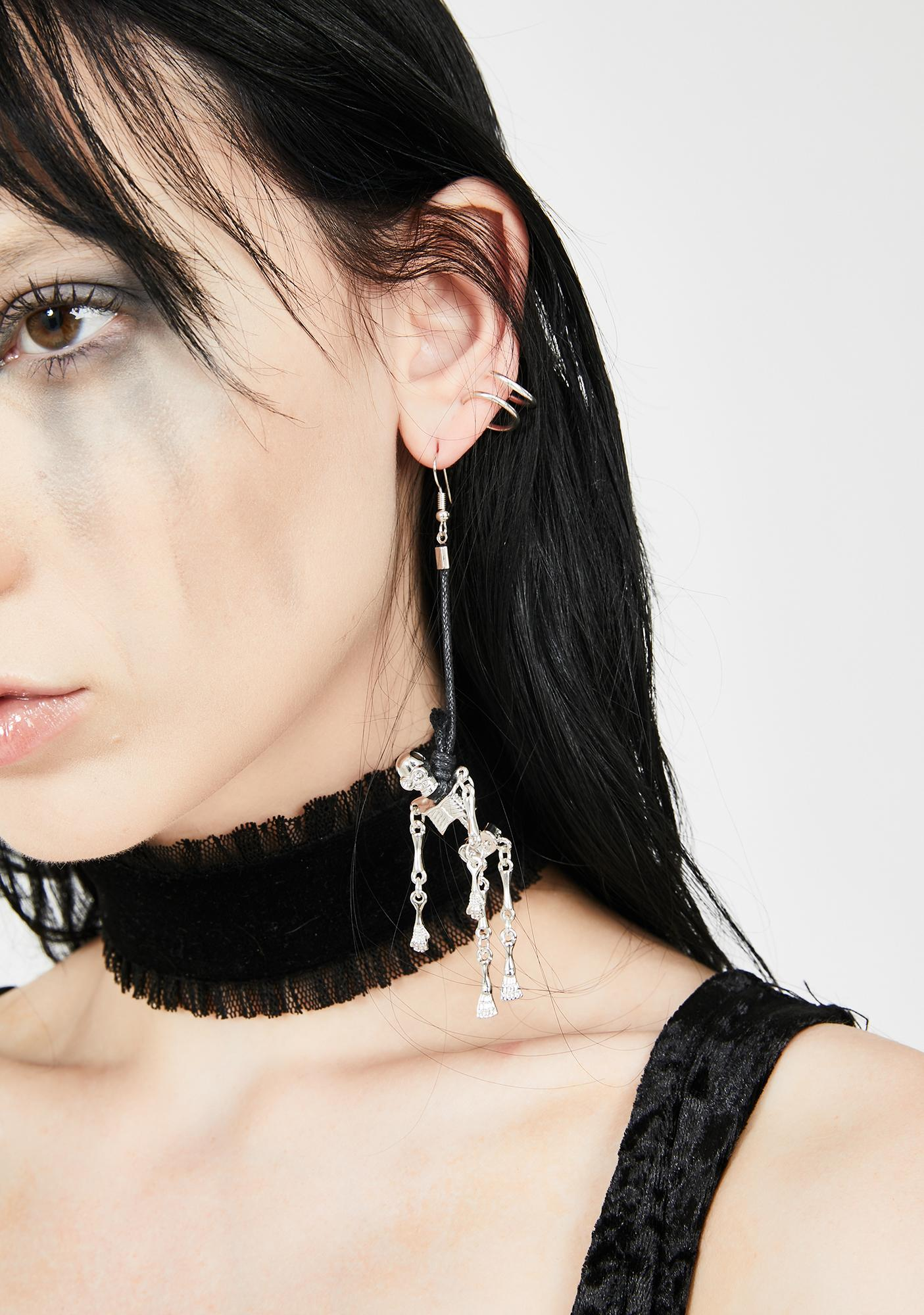 Dead Friendz Drop Earrings