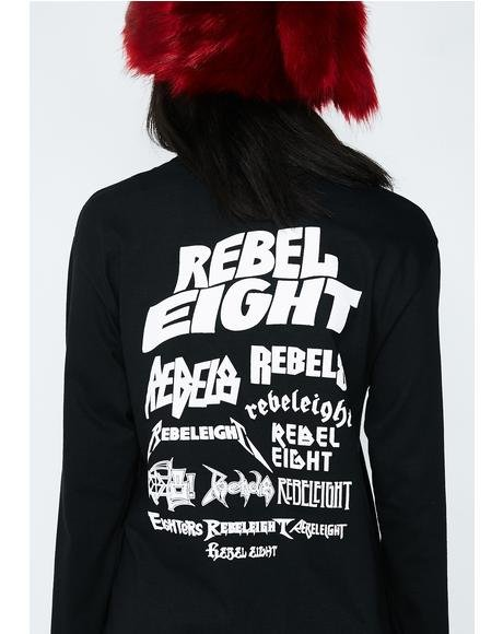 Rebel Skeletons Of Society Long Sleeve