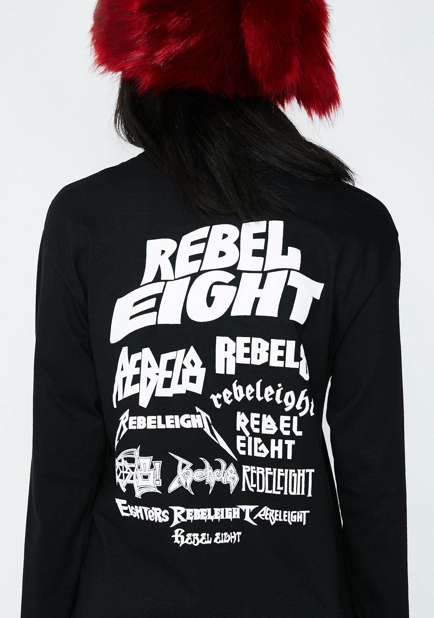 Rebel8 Rebel Skeletons Of Society Long Sleeve