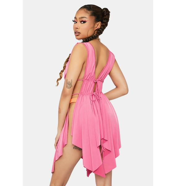 Sweet This Part Of Town Open Drape Tank Top