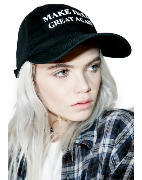 Make Hell Great Again Dad Hat