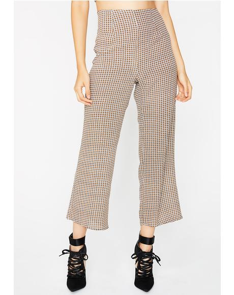 Talkin' Business Plaid Pants