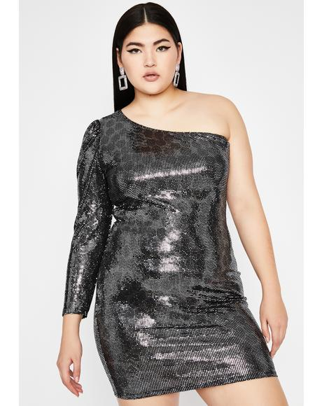 Chrome Hit The Hills Sequin Dress