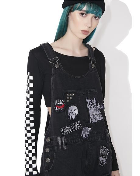 Jinx Cursed Cutie Overalls