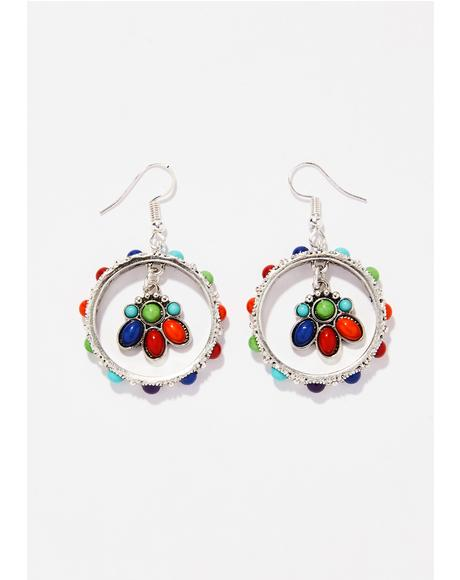 Loca Por Vida Earrings