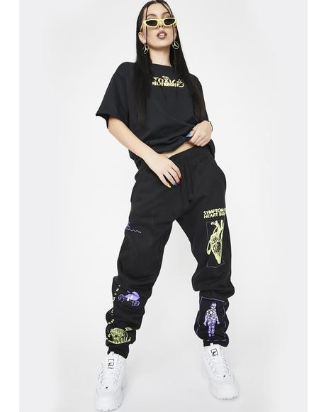 Delirious Graphic Sweatpants