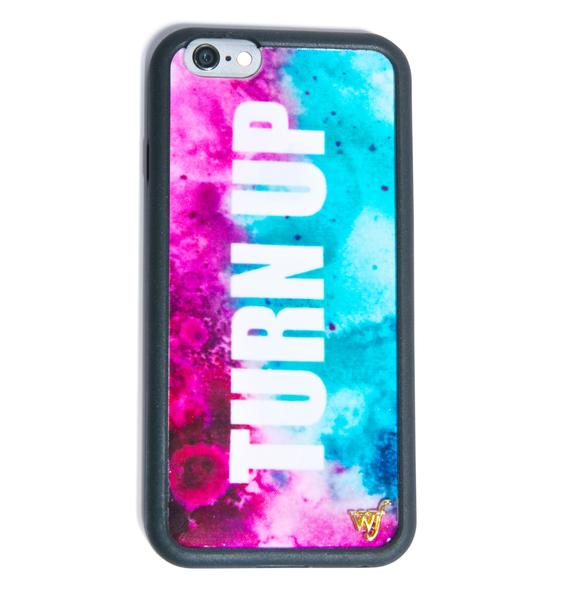 Wildflower Turn Up iPhone 6 Case