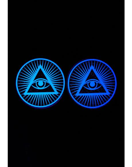 Third Eye Glow In The Dark Pasties