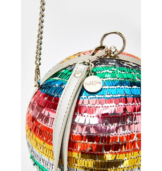 Packed Party The Most Disco Ball Clutch