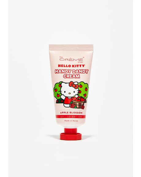 Apple Blossom Hello Kitty Hand Cream