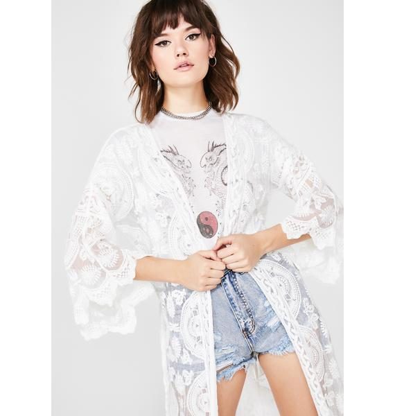 Pure Atomic Realm Lace Kimono