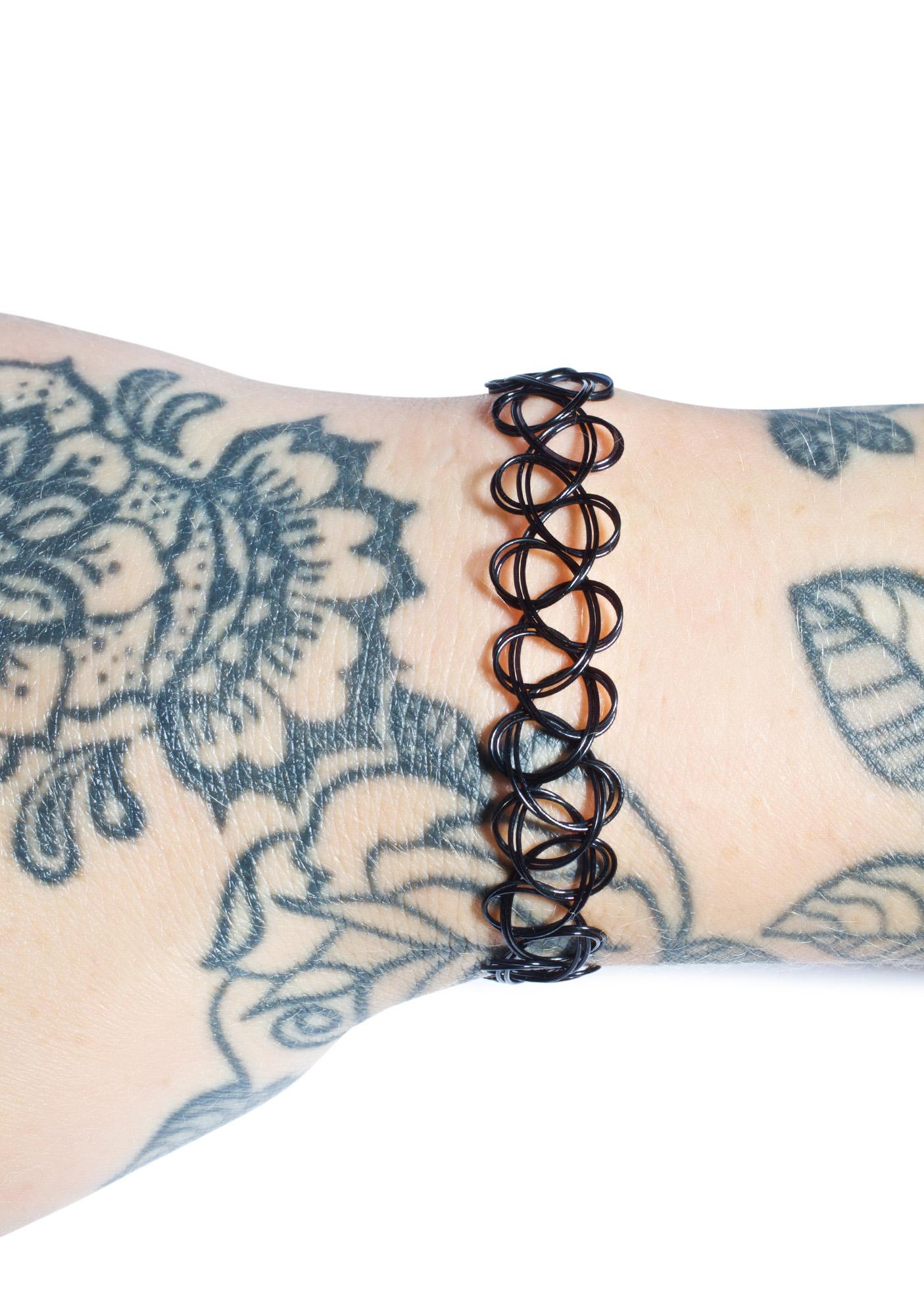 Old Skool Tattoo Bracelet