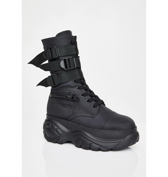 Poster Grl Mad Hustle Pocket Combat Boots