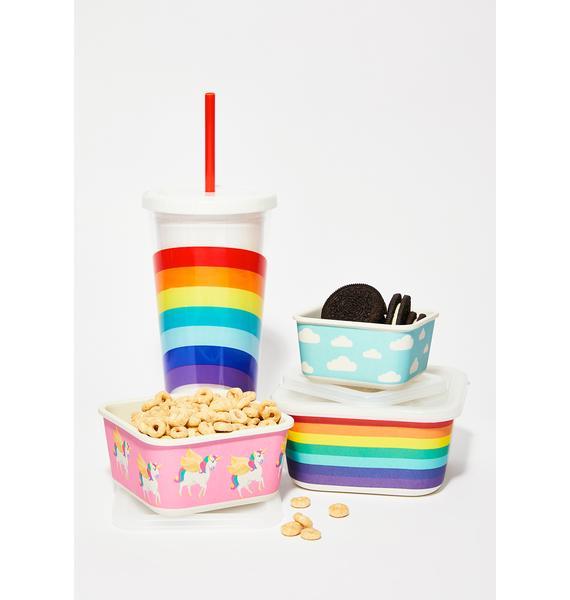 Eat Your Rainbows Eco Snack Box Set