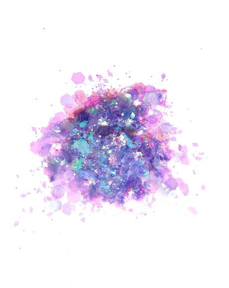 Chunky Dark Unicorn Glitter