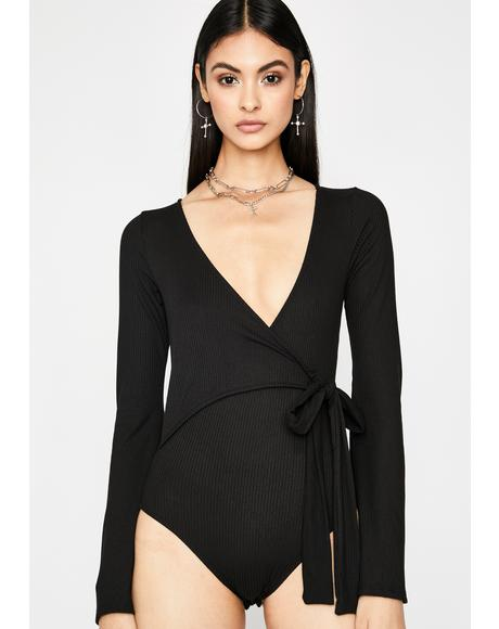 Make It Good Wrap Bodysuit