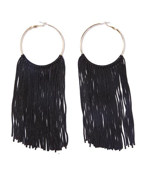 Gone Haywire Fringe Hoops