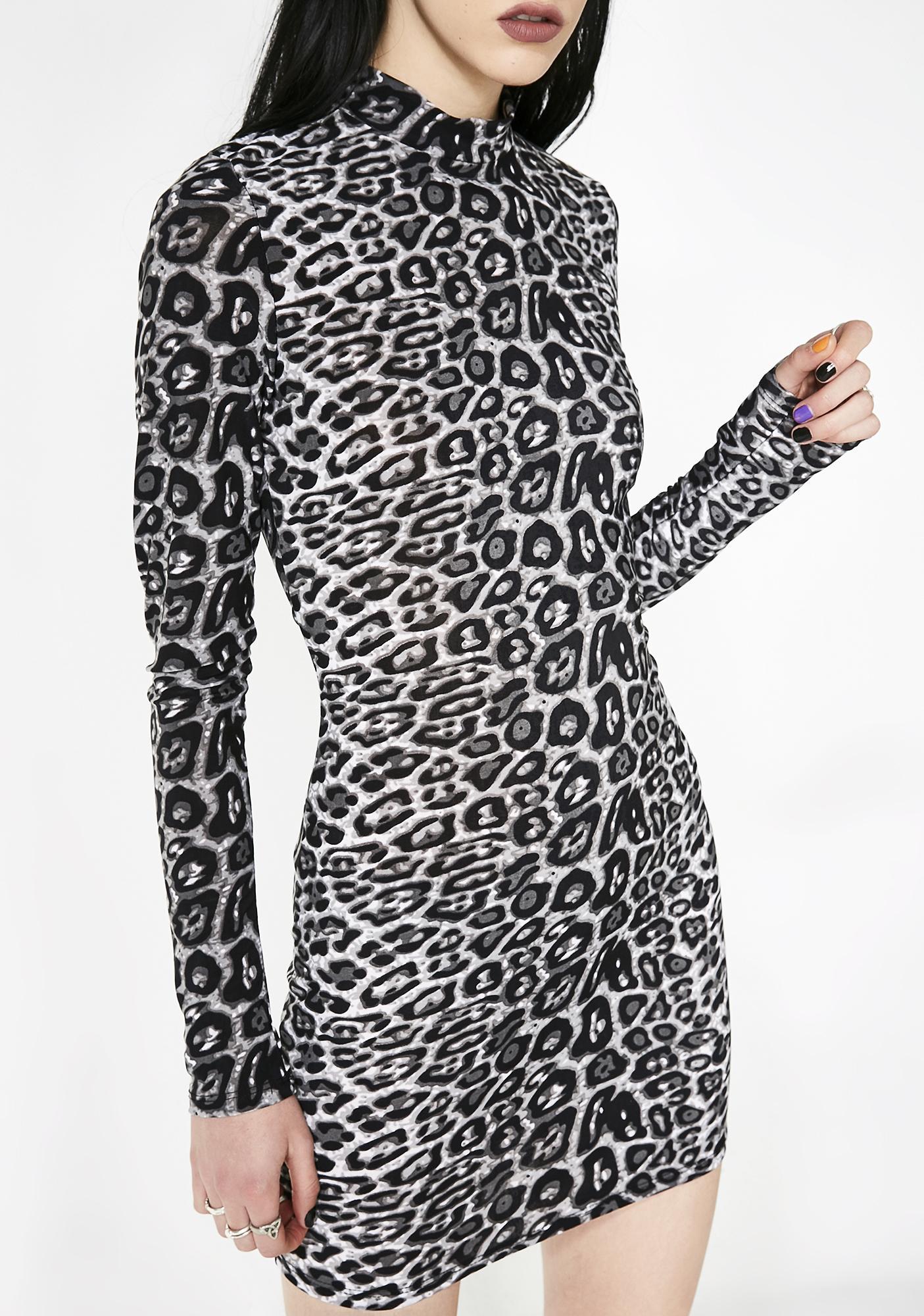 Undomesticated Bodycon Dress