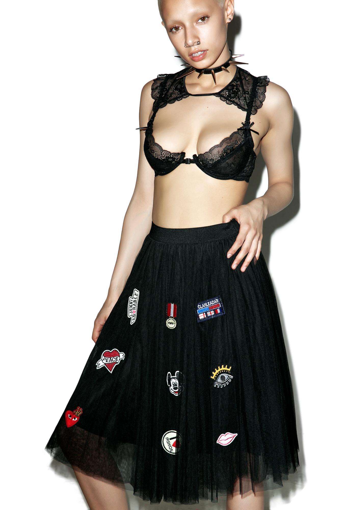 Patch Princesa Tulle Skirt