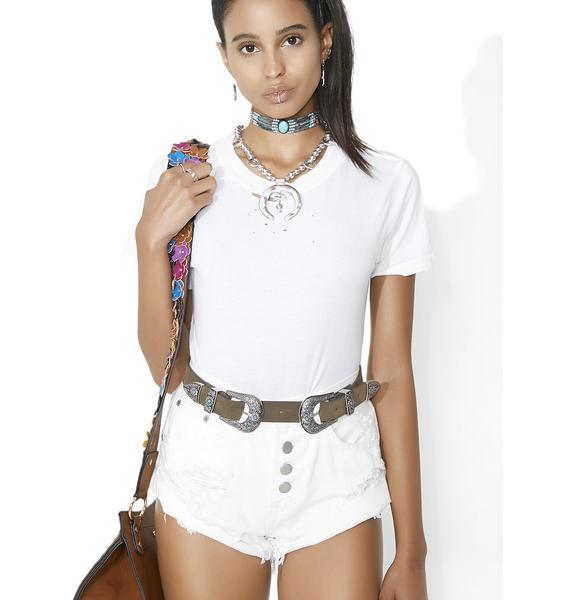 Wynonna Double Buckle Belt