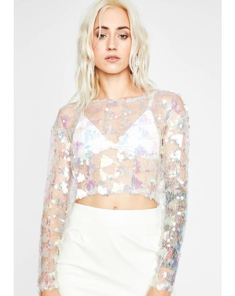 Kiss Of Bliss Sequin Top
