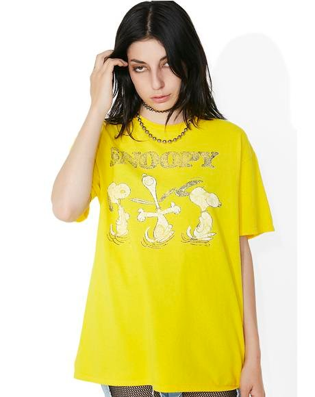 Sunflower Snoopy Tee