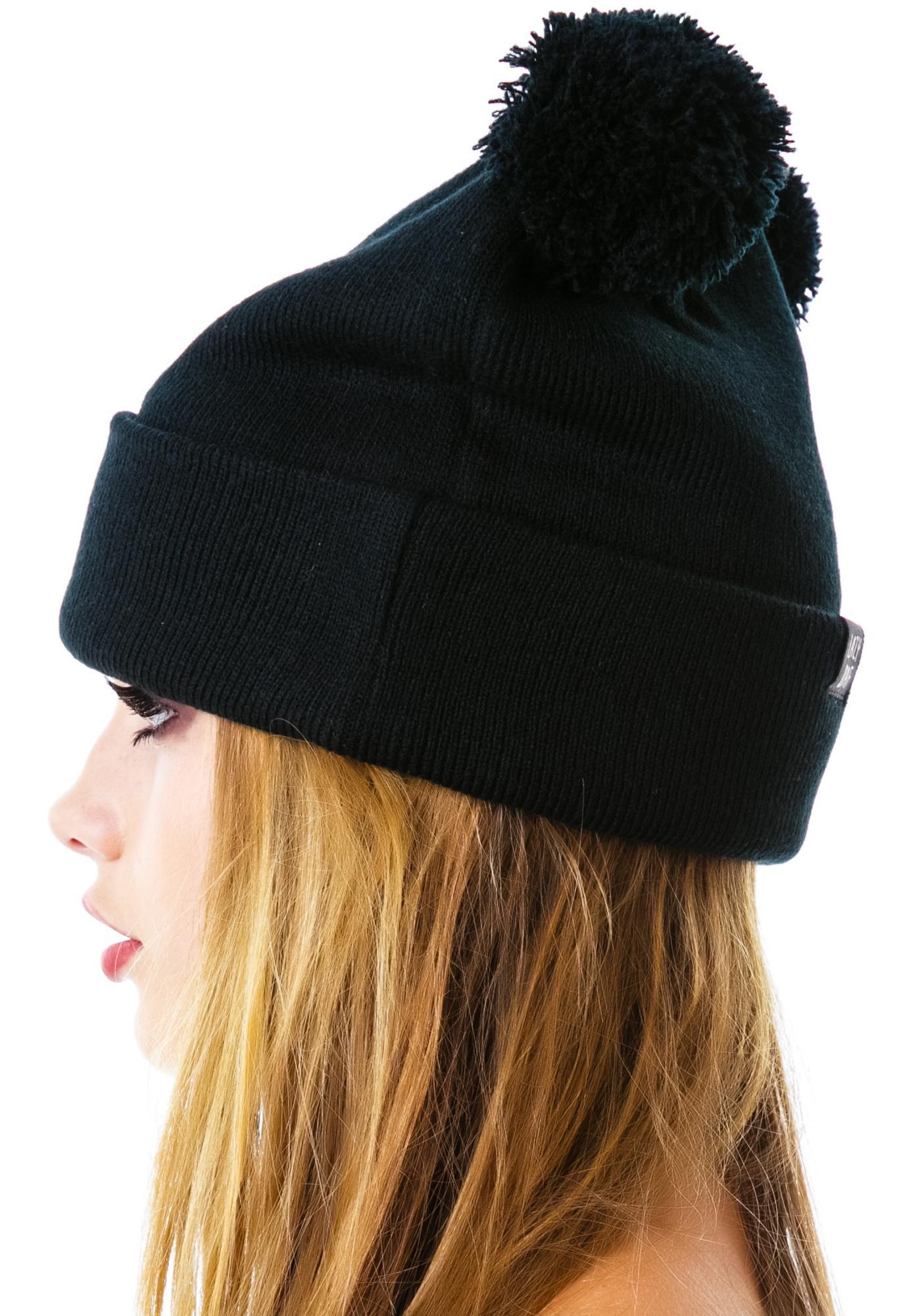 Lazy Oaf Bear Bobble Hat