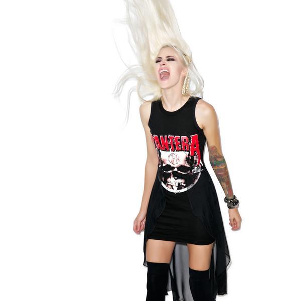 Vera's Eyecandy Vulgar Display Hi Low Dress