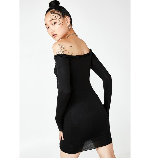 Make The Cut Mini Dress