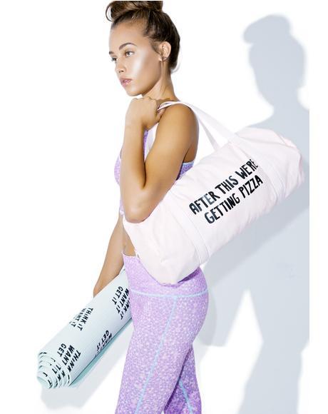 Workout Reward Gym Bag