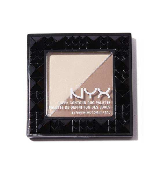 NYX Double Date Cheek Contour Duo Palette