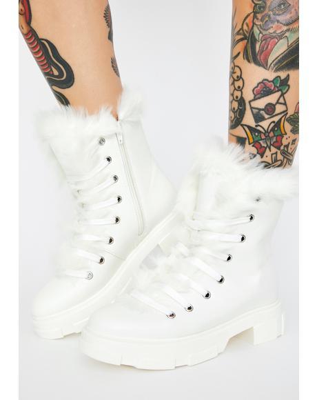 Arctic Tough Terrain Furry Boots