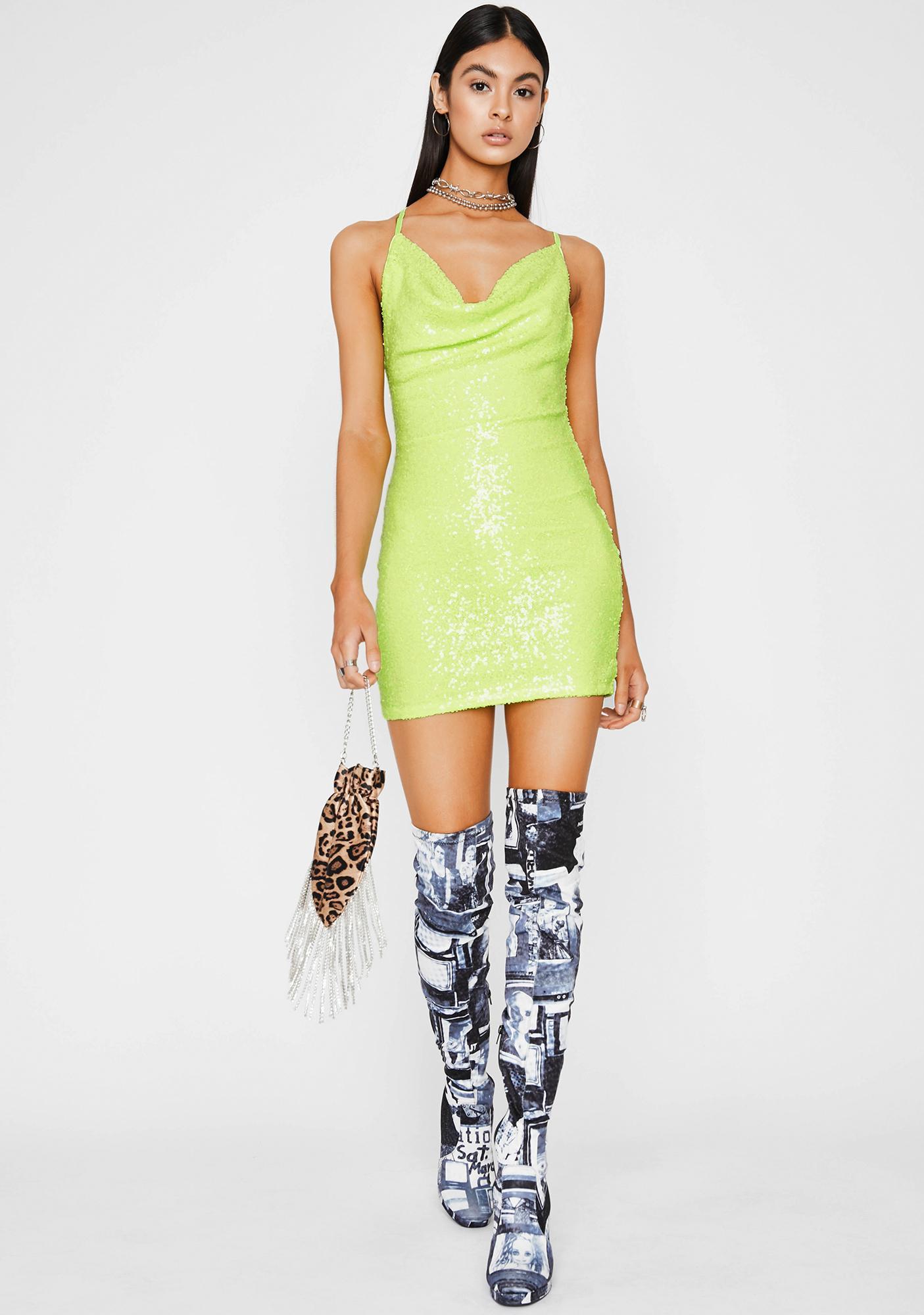 Atomic Spendin' Coins Mini Dress