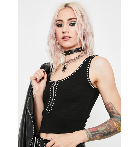 Current Mood Sucker Punch Studded Tank