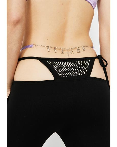 Pisces Charm Thong Panty