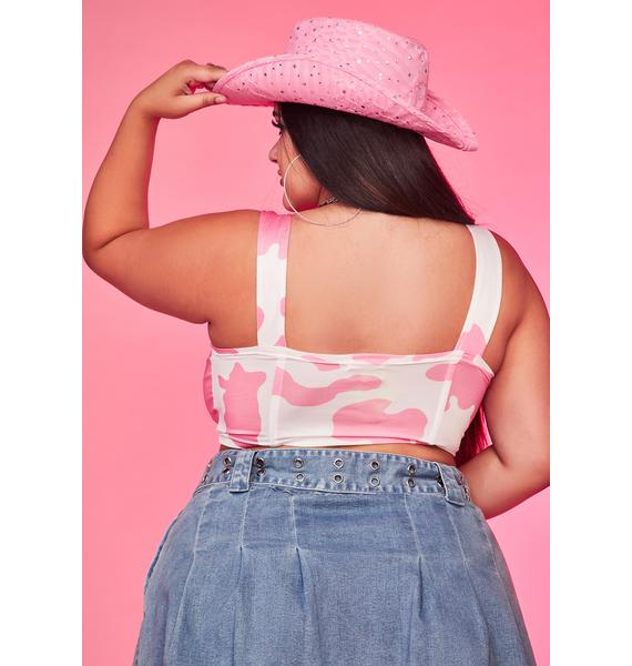 Come Ride With Me Corset Top